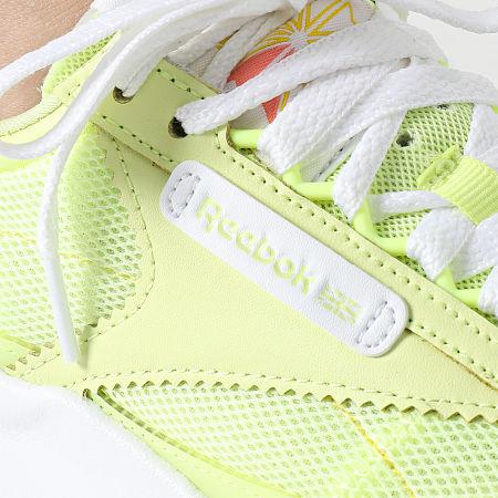 Reebok - Baskets Femme Classic Leather Legacy FY7441 Energy Glow Cloud Whie Semi Energy Glow