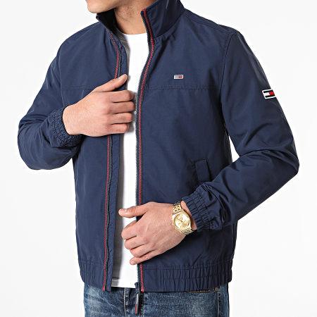 Tommy Jeans - Veste Zippée Essential Casual 0061 Bleu Marine