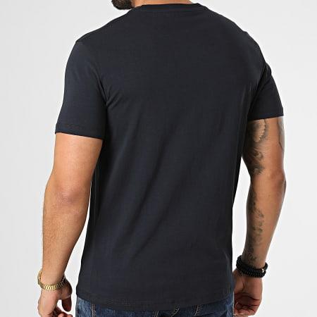 Armani Exchange - Tee Shirt 3KZTGF-ZJBVZ Bleu Marine Doré Iridescent
