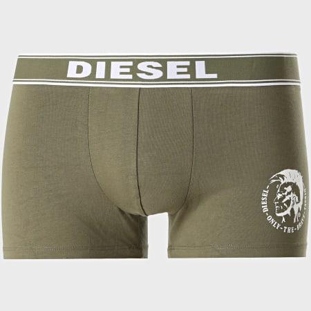 Diesel - Lot de 3 Boxers Shawn 00SAB2-0TANL Orange Vert Kaki Bleu Marine