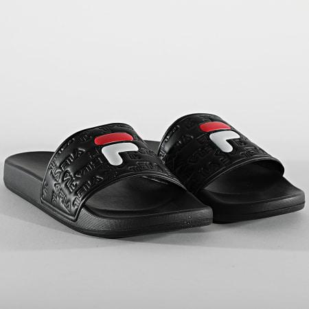 Fila - Claquettes Femme Baywalk Slipper 1011246 Black