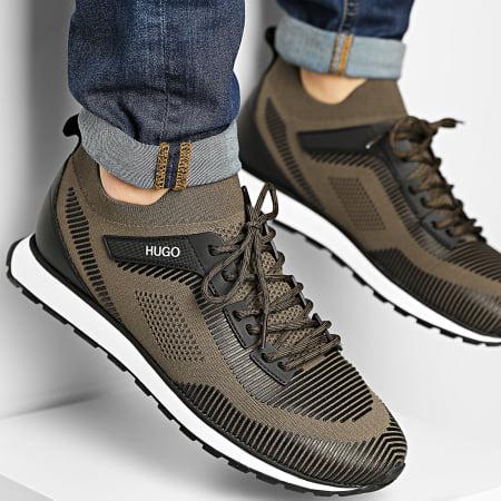 HUGO By Hugo Boss - Baskets Icelin Runner 50451737 Dark Green