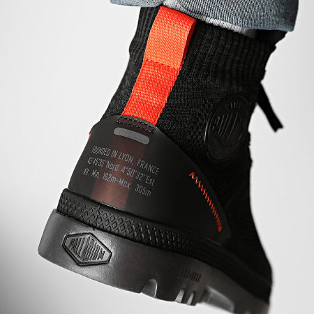 Palladium - Boots Pampa Hi Lite Knit 77034 Black