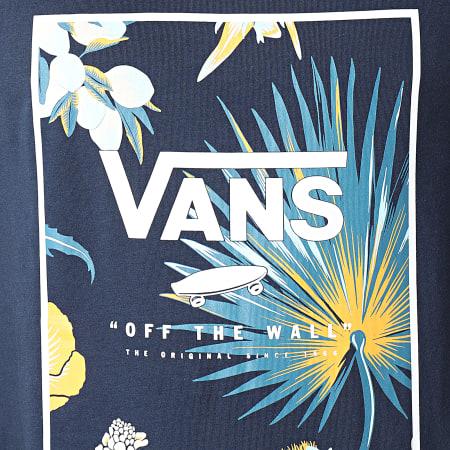 Vans - Débardeur Print Box A31EX Bleu Marine Floral