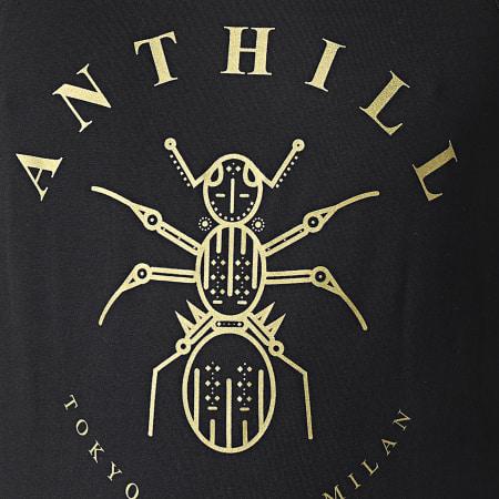 Anthill - Débardeur Logo Noir Or