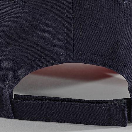 FFF - Casquette F19078 Bleu Marine Rouge
