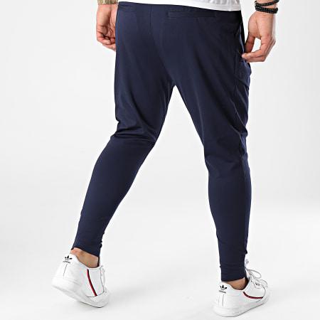 John H - Pantalon Jogging 2510 Bleu Marine
