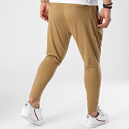 John H - Pantalon Jogging 2510 Camel