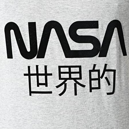 NASA - Débardeur Japan Gris Chiné Noir