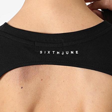 Sixth June - Robe Femme Manches Longues W32780PDR Noir