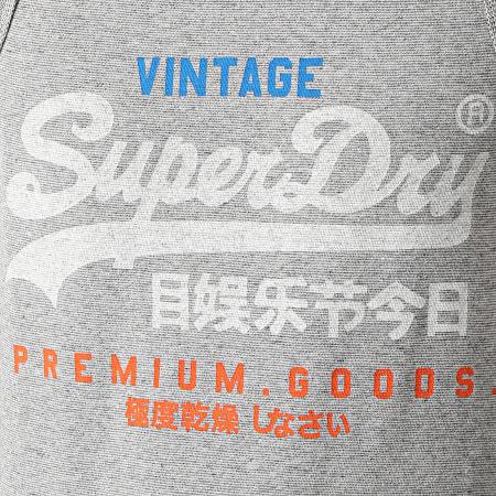 Superdry - Débardeur VL Tri M6010420A Gris Chiné