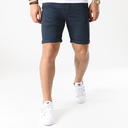 Solid - Short Jean 21104827 Bleu Marine