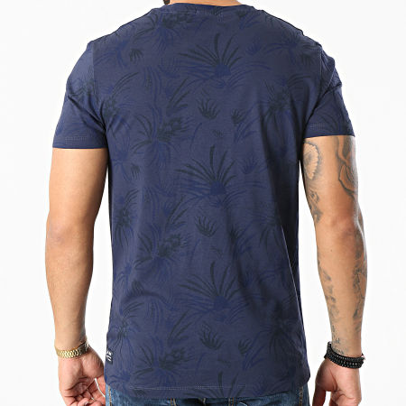 Tom Tailor - Tee Shirt 1025130-XX-12 Bleu Marine Floral