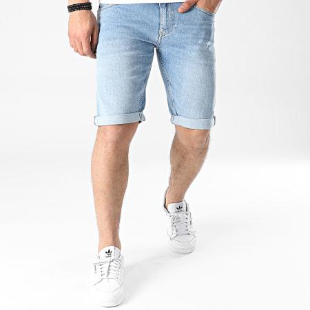 Tommy Jeans - Short Jean Ronnie Bleu Denim