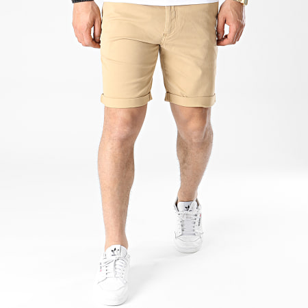 Tommy Jeans - Short Chino Scanton 1076 Camel