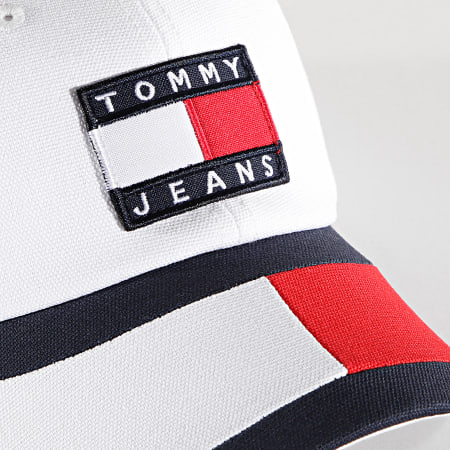 Tommy Jeans - Casquette Femme Heritage 9765 Blanc