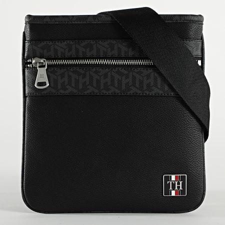 Tommy Hilfiger - Sacoche Monogram Mini Crossover 7246 Noir