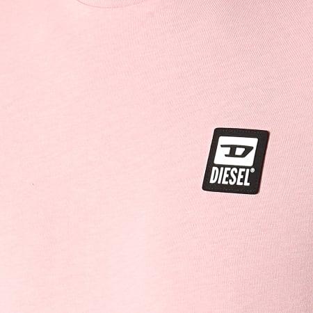 Diesel - Tee Shirt A00356-0AAXJ Rose