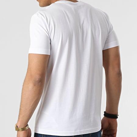 Diesel - Tee Shirt A02367-0HAYU Blanc Violet