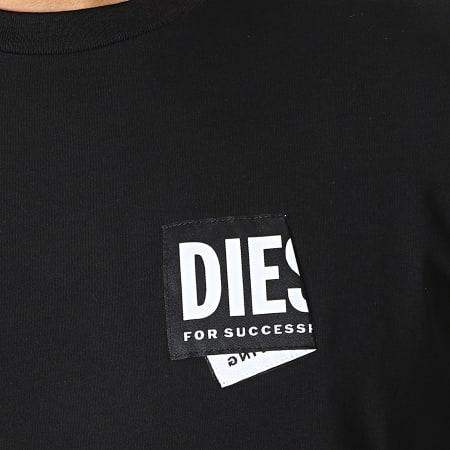 Diesel - Tee Shirt A02369-0HAYU Noir
