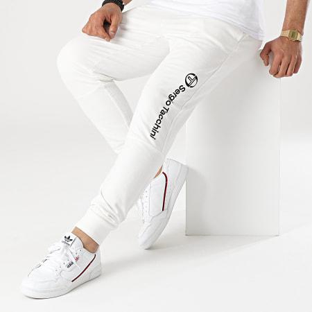 Sergio Tacchini - Pantalon Jogging Almers 39066 Blanc Cassé