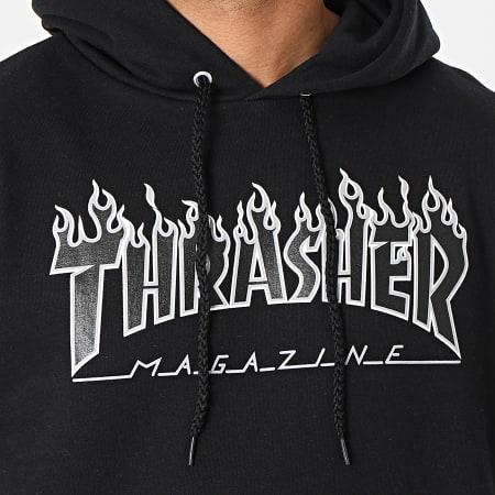 Thrasher - Sweat Capuche THRSW083 Noir