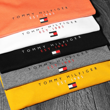 Tommy Hilfiger - Tee Shirt Essential Tommy 7676 Noir