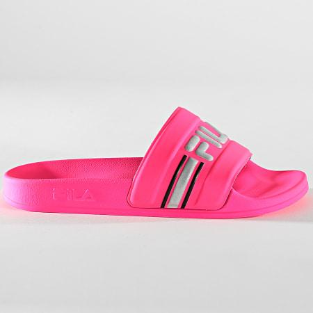 Fila - Claquettes Femme Oceano Neon Slipper 1010903 Neon Pink