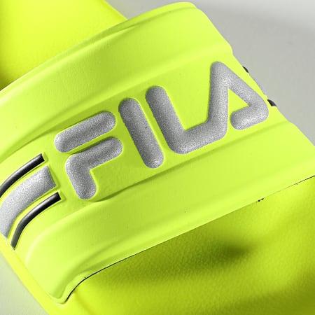 Fila - Claquettes Femme Oceano Neon Slipper 1010903 Neon Lime