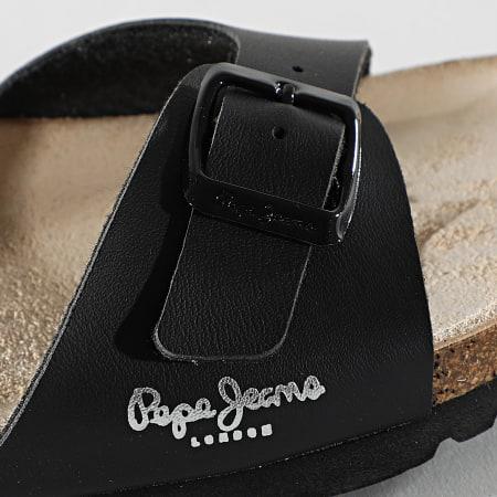 Pepe Jeans - Sandales Femme Oban Basic PLS90525 Noir