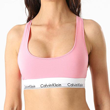 Calvin Klein - Brassière Unlined Femme F3785E Rose