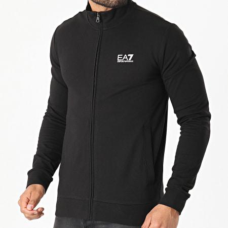 EA7 - Veste Zippée 8NPM01-PJ05Z Noir