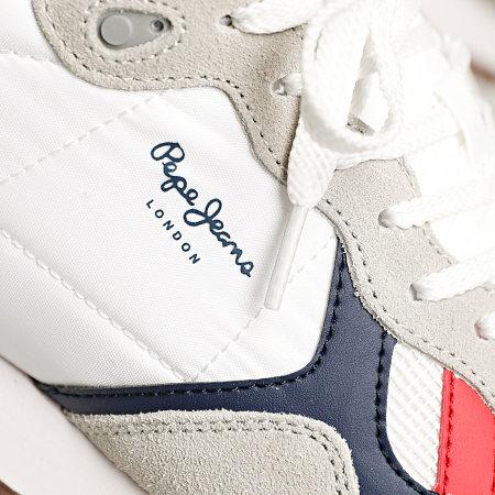 Pepe Jeans - Baskets Britt Man Basic PMS30721 White