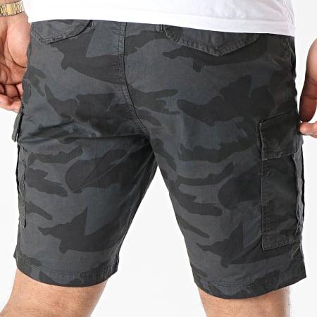 Brave Soul - Short Cargo Denver Gris Anthracite Camouflage