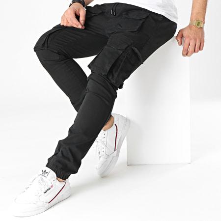 Brave Soul - Jogger Pant Slim Molton Noir