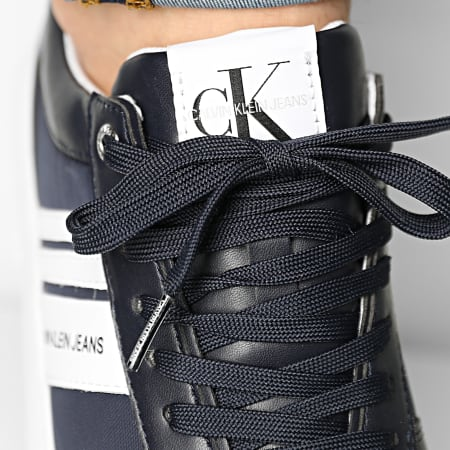 Calvin Klein Jeans - Baskets Cupsole Laceup Oxford 0034 Night Sky