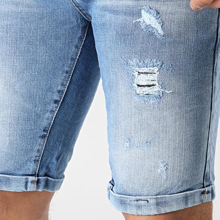 Classic Series - Short Jean 3135_1 Bleu Denim