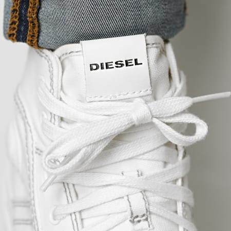 Diesel - Baskets Montantes S-Astico Mid Lace Y01874-PR012 Star White