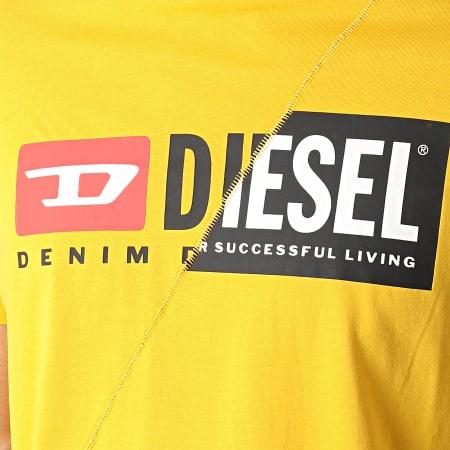 Diesel - Tee Shirt Diego Cuty 00SDP1-0091A Jaune