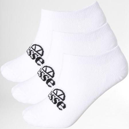 Ellesse - Lot De 3 Paires De Chaussettes Invisibles Frimo SAGA1791 Blanc