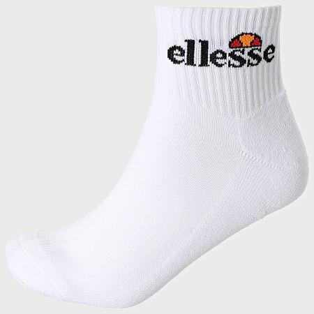 Ellesse - Lot De 6 Paires De Chaussettes SBGA1570 Blanc