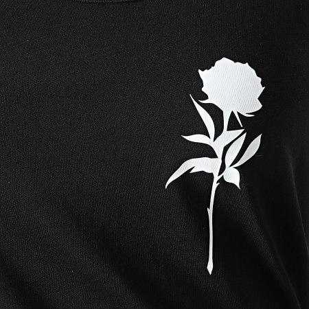 Luxury Lovers - Débardeur Femme Rose Chest Noir Blanc