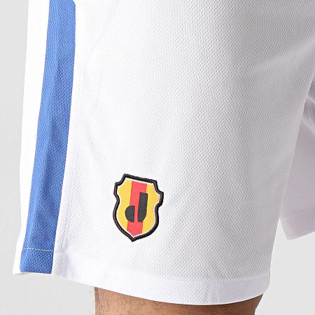Okawa Sport - Short De Sport A Bandes Japan Blanc