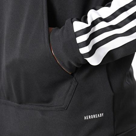 adidas - Sweat Capuche Squad 21 GK9548 Noir