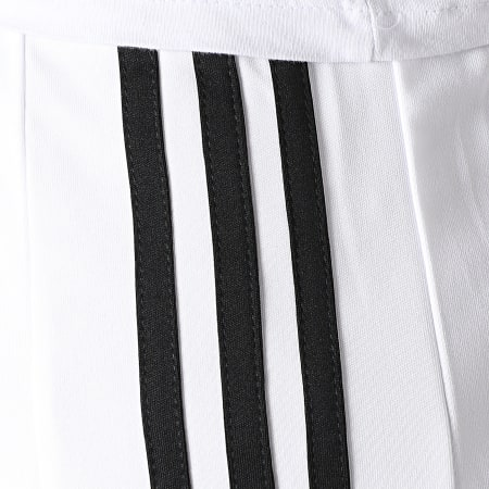adidas - Short Jogging A Bandes Squad 21 GN5773 Blanc