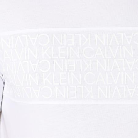 Calvin Klein - Tee Shirt Logo Lines 6961 Blanc
