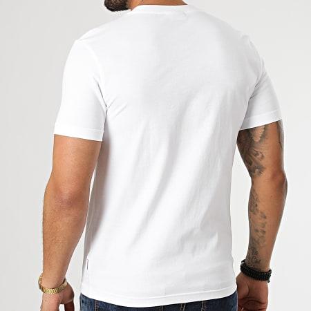Calvin Klein - Tee Shirt Triple Center Logo 7158 Blanc
