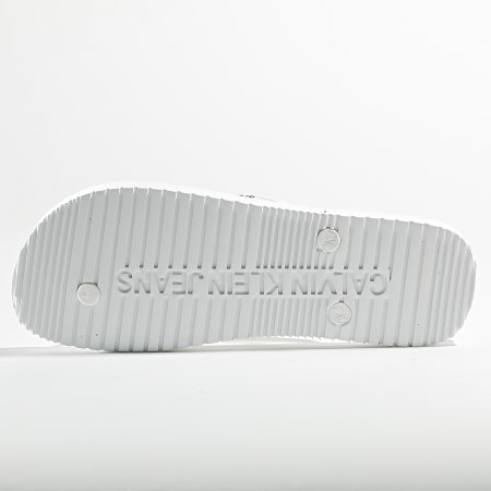 Calvin Klein Jeans - Tongs Beach Sandal Monogram 0055 Blanc