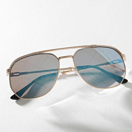 Classic Series - Lunettes De Soleil 016641 Doré Bleu