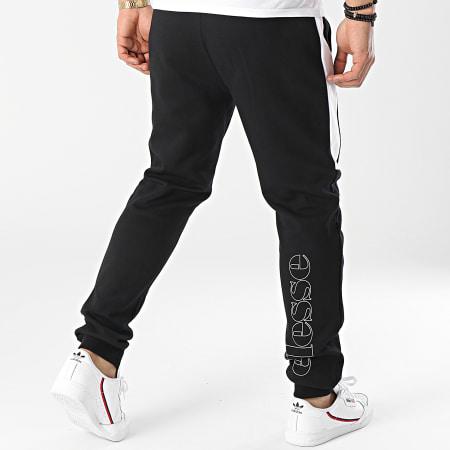 Ellesse - Pantalon Jogging A Bandes Kylian SXI10686 Noir Réfléchissant